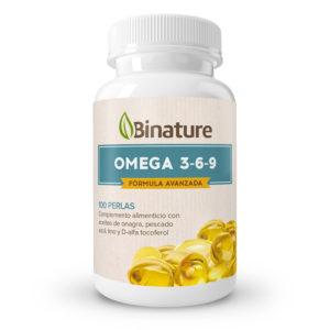Complemento alimenticio a base de omega 3-6-9