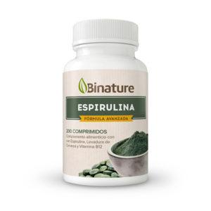 Complemento alimenticio Espirulina